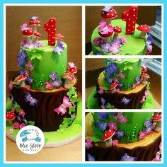 Fairy 1st Birthday Cake – Blue Sheep Bake Shop