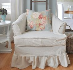Restoration House: New Dropcloth slipcover