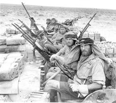 British SAS, North Africa, WW2 Not a group you ever want to see coming for you.