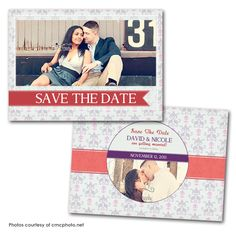 Inkola Save the Date Card Save The Date Photos, Save The Date Cards, Wedding Card Design, Wedding Cards, Save The Date Inspiration, Save The Date Templates, Photo Cards, Dating, Baseball Cards