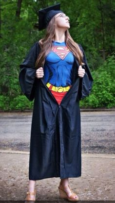 Funny pictures about Supergirl graduation. Oh, and cool pics about Supergirl graduation. Also, Supergirl graduation. Graduation Photography, Senior Photography, Photography Ideas, Female Photography, College Graduation, Graduate School, Graduation Pics, Graduation Gowns, Np School