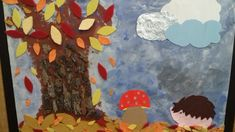 Autumn sensorial panel Autumn, Painting, Art, Art Background, Fall Season, Painting Art, Kunst, Fall, Paintings
