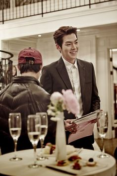 Kim Woo Bin shares his experience behind the scenes of Heirs