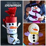 List of Easy Snowman Crafts For Kids to Make