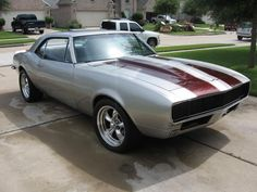 67 Camaro - I would so take this car and drive the wheels off of it!!