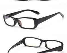 Okuliare na prácu s počítačom v lesklej čiernej farbe