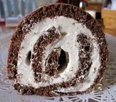 Mutritious Nuffins: Grain-free Buche de Noel aka Yule Log. Grain Free, Doughnut, Real Food Recipes, Paleo, Gluten Free, Dinner, Desserts, Christmas, Tailgate Desserts
