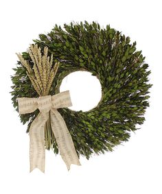 Wheat Melody Wreath | zulily