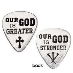Pewter Pocket Token Guitar Pick Our God is Greater Acoustic Guitar Lessons, Guitar Tips, Guitar Songs, Guitar Chords, Acoustic Guitars, Ukulele Tabs, Singing Lessons, Singing Tips, Architecture Design