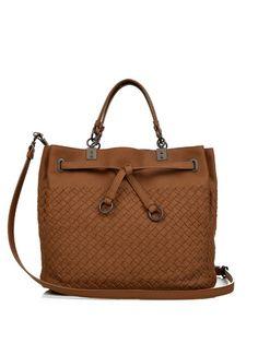 23d4d34ad6 BOTTEGA VENETA Intrecciato Leather Bucket Bag.  bottegaveneta  bags   shoulder bags  hand bags  bucket  suede  lining