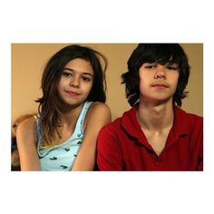 Identical twin boys, one transgender become brother and sister ❤ liked on Polyvore