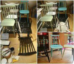 HJERTEHJORT: Ennå mer pinnestoler... Check out these cool chairs!!