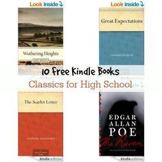 10 Free Kindle Books: Classics for High School
