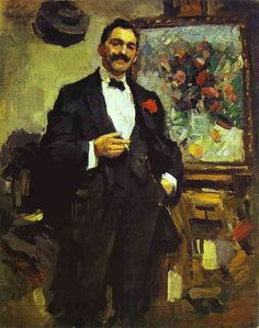 Korovin, Constantin (1861-1939) - 1912 Portrait of the Hungarian Artist Jozef Ripple-Ronai by RasMarley, via Flickr