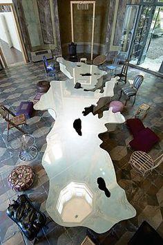 Arte Povera, Tavolo del Mediterraneo | Michelangelo Pistoletto