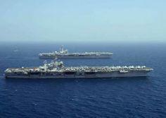 USS George HW Bush <3 and USS Harry S. Truman