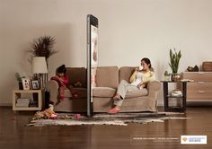 "A new Chinese ad campaign illustrates the way smartphones can affect family life and relationships. Titled ""Phone Wall,"" the campaign b..."