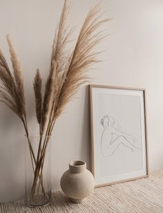 Women Poster, Face Sketch, Abstract Line Art, Botanical Wall Art, Aesthetic Bedroom, Aesthetic Art, Aesthetic Pictures, Mid Century Art, Digital Wall