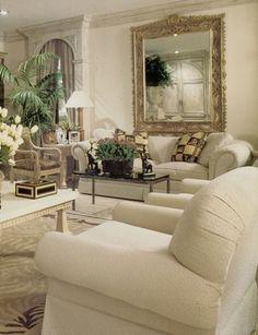 William R. Eubanks charisma design Home Living Room, Living Room Designs, Living Room Decor, Family Room Design, Family Rooms, Casa Linda, Home Wall Decor, Beautiful Interiors, Window Detail