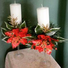 Arranjos de mesa para o natal. Ateliê Art Lu - Princesa Isabel - PB.