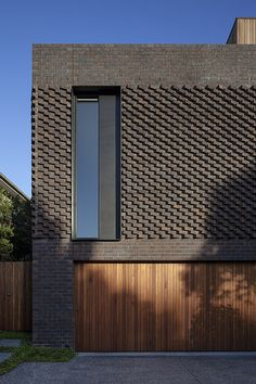 Awesome Artistic Exposed Brick Architecture Design - Page 25 of 46 Architecture Résidentielle, Futuristic Architecture, Contemporary Architecture, Houston Architecture, Architecture Colleges, Brick Design, Facade Design, Exterior Design, Modern Brick House
