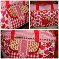 Little Holiday bag 75 % Erdbeere