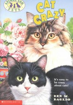 Cat Crazy by Ben M. Baglio - When James and Mandy meet Mrs. Browne, the owner of a houseboat filled with cats, they try to help her stop Mr. Pengelly and other townspeople who think Mrs. Browne is cat crazy, from forcing her out of town.