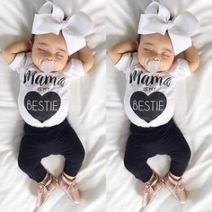 HAPPYMA Newborn Baby Girls Bodysuit Bunny Romper Summer Clothes Outfits