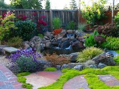 Nice water feature for the yard