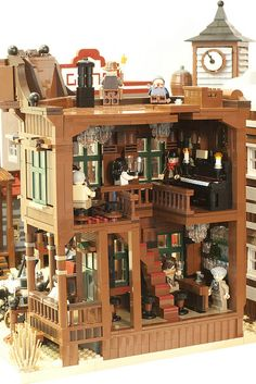Lego Saloon Interior