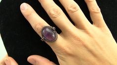 Grooved Cabochon Wire Wrapped Ring Tutorial