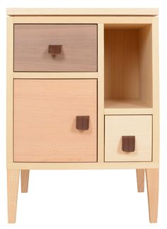 Heal's Nordic Bedside Cabinet | Bedside Cabinets | Bedroom Furniture | Furniture | Heal's