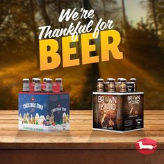 Eat, drink, and be thankful. Frankenmuth Brewery, Beer Quotes, Christmas Town, Simple Recipes, Happy Thanksgiving, Easy Meals, Thankful, Photo And Video, Drinks