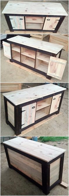 20 Brilliant DIY Pallet Furniture Design Ideas to Inspire You - diy pallet creations Pallet Barn, Pallet Lounge, Diy Pallet Sofa, Diy Pallet Furniture, Diy Pallet Projects, Woodworking Furniture, Pallet Ideas, Woodworking Ideas, Wooden Furniture