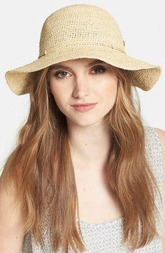 Helen Kaminski 'Caicos' Raffia Hat available at #Nordstrom