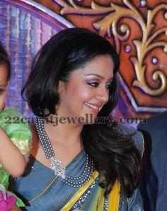 Actress Jyothika Jewellery