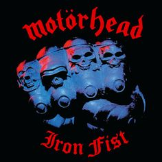 """Metal legends MOTÖRHEAD released their fifth studio album """"Iron Fist"""" 37 years ago today. This was the last album with guitarist """"Fast"""" Eddie Clarke. Which is your favorite track on the album? Metal On Metal, Heavy Metal Music, Iron Fist, Hard Rock, Pochette Album, Vinyl Junkies, Metal Albums, Cd Album, Band Posters"""