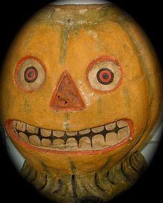Vintage Halloween Jack O Lanterns Retro Halloween, Halloween Jack, Holidays Halloween, Halloween Crafts, Asylum Halloween, Halloween Tricks, Halloween Labels, Halloween Wreaths, Halloween Witches