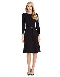 Women's Apparel | Sweater Dresses | Knit Scoopneck Dress | Lord and Taylor