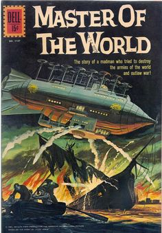 Published in The Master of the World is the penultimate novel in the Voyages Extraordinaires series, by renowned French novelist and pioneer of science fiction, Jules Verne. Science Fiction, Pulp Fiction, Sci Fi Comics, Horror Comics, Jules Verne, Sci Fi Books, Comic Books, Pseudo Science, Classic Sci Fi