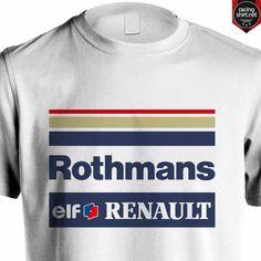WILLIAMS RENAULT F1 ROTHMANS RACING SENNA HILL #Senna #Williams #Rothmans