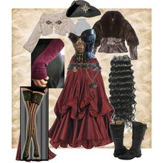 Steampunk Secrets, created by lylia on Polyvore