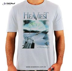 Precisa de camisetas personalizadas? Faça como a banda Heaviest e conte com a Sow! Aqui, a sua marca é tratada com respeito e qualidade. Contatos: sac@sowstore.com.br e pelo WhatsApp (11) 97502-5200.