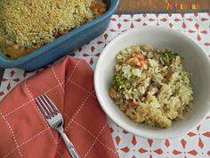 #glutenfree - Broccoli Bean Casserole - This is a comfort casserole