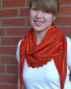 hitchhiker scarf pattern free - Google Search