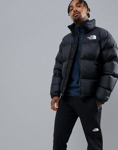 8d1731d15c The North Face 1996 Retro Nuptse Jacket in Black