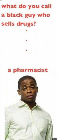 Oh you know das right!!... Except that it is wrong. Gus is a pharmaceutical salesman. Not a pharmacist....