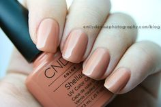 Phoenix Beauty Lounge Review – CND Shellac Cocoa