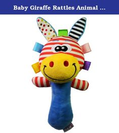 Baby Giraffe Rattles Animal Soft Developmental Toy Cute Tinkle Babble Dolls. Features: Made of high quality environment-friendly material Superior craftsmanship make this item childhood favorite Your kids will have a lot of fun with it Cute cartoon style Help promote your baby's hearing and touching development Specifications: Material: Felt Fit for Age: 0-2 years old Size: 9.5 * 21.5cm/3.74 * 9.46inch Color: As the pictures show Notice: Children under the age of three should be…