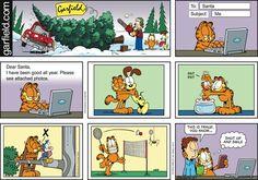 Garfield Comic Strip for Dec/07/2014 on GoComics.com